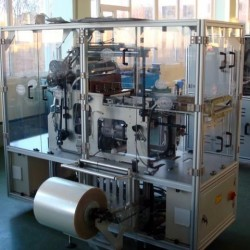 New - Alpha & Z 200 PPM Over Wrapping Machine